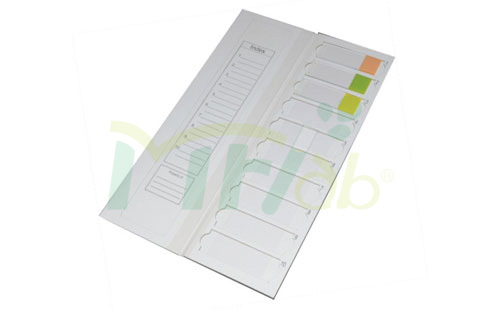 Slides Trays for 10 pieces Slides with dividers